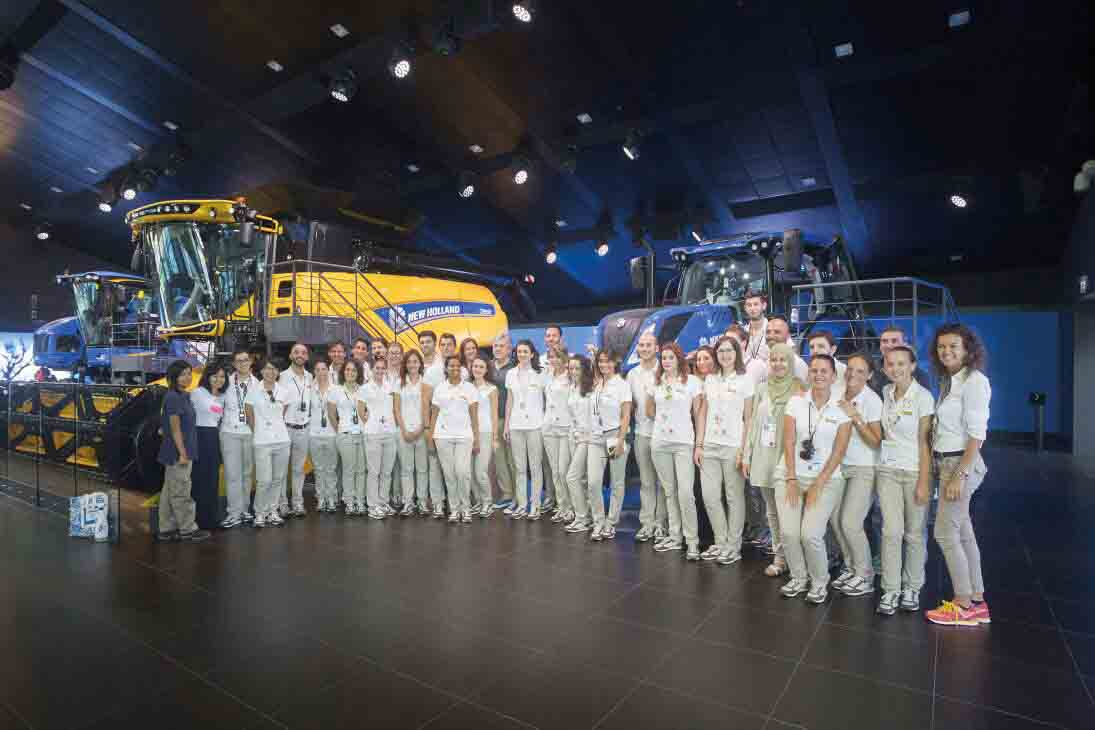 New Holland klar på EXPO 2015