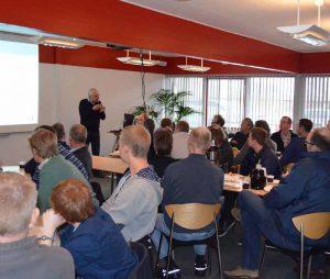 HCP Danmark kan hurtigt give nye forhandlere og deres personale produktkendskab via teoretisk og praktisk undervisning i Krogager.